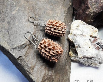 Earrings seeds filaos