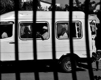 "Photography black and white: ""Chlostrophobia"" - Morondave, MADAGASCAR - 2015"