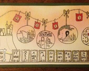 Custom - Gypsy - greeting card