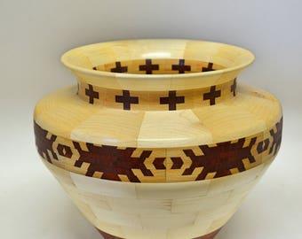 Segmented Bowl #132