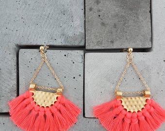 Dangle Tassel Earrings -  Remi