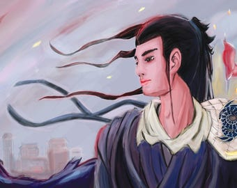 Kavi Original Artwork (Belonging) - Chinese Digital Painting