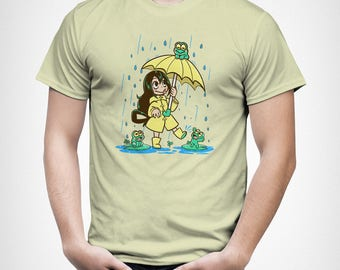 Best Frog Girl - Tsuyu Asui // Froppy T-Shirt //  My Hero Academy Boku no Hero Shirt // Anime character T-Shirt