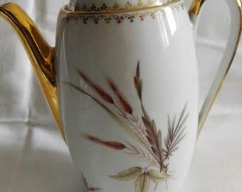 French Limoges France Vintage porcelain tea set - french vintage