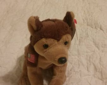 Courage Beanie Baby benefited NYPD after 911