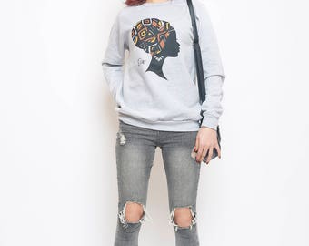 Lady Bogolan Sweatshirt