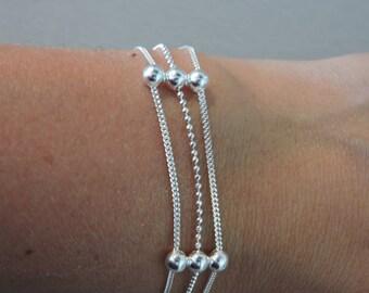 TRENDY 925 silver bracelet
