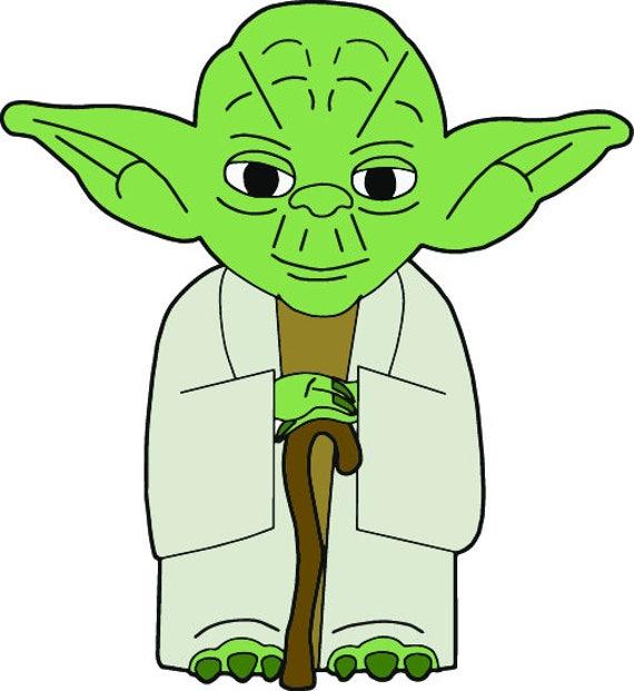 Yoda svg - Yoda vector - Yoda clipart - Yoda starwars ...