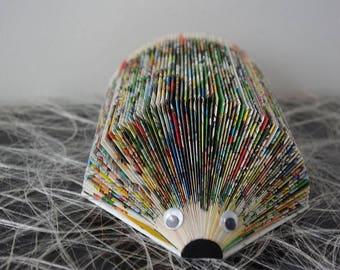 Cartoon Hedgehog rack recycled