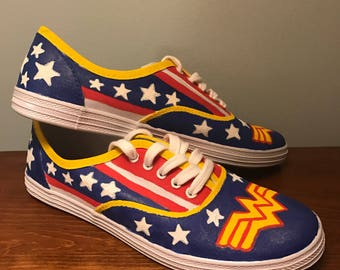 Wonder Woman Canvas Shoes