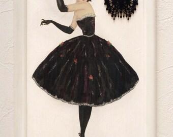 "Romantic painting ""Dancer"""