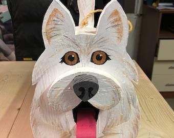 Westie Dog Birdhouse