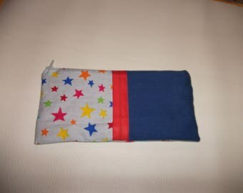 Cotton lined for school pencil case