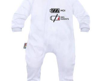 Baby pyjamas: I am full of energy