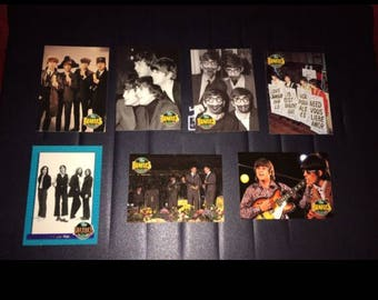 Beatles Trading Collector Cards - Lot of 7