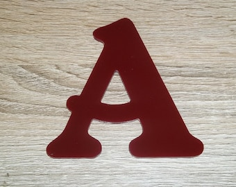 Model letter sign PLEXI BELSHAW; all letters available