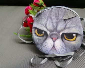 The Grumpy Cat purse