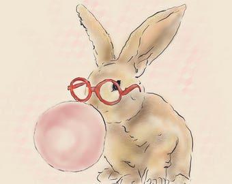 Bubble Gum Bunny