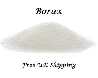 Borax, FREE UK Shipping,  Perfect for Slime, 100 gms Sodium Tetraborate Decahydrate.  20 Mule Team Borax,