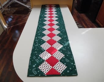 "Christmas table runner 11.5"" by 47"""