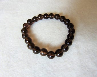 gemstone bracelet smoky quartz