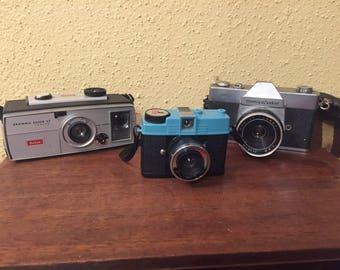 Vintage Cameras - Lot of 3