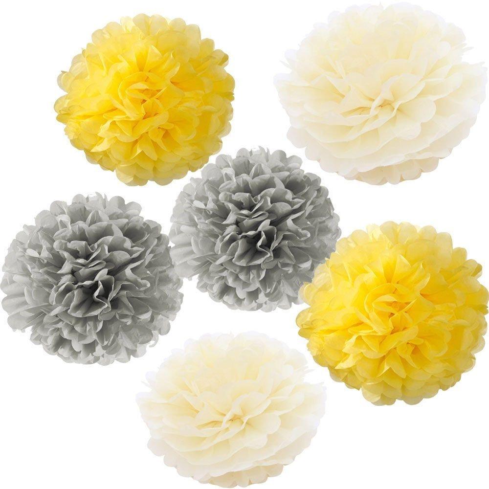 18pcs 10 8 pom poms diy tissue paper flowers multi colors pompoms 18pcs 10 8 pom poms diy tissue paper flowers multi colors pompoms flower mightylinksfo