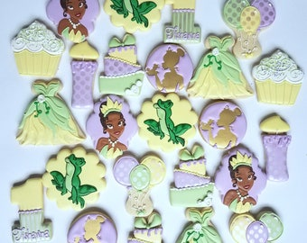 Princess and the Frog Cookies