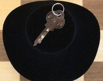 Dated Key Keychain