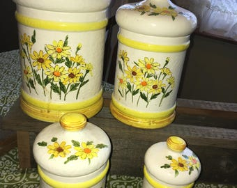 Vintage Sears and Robuck Canister set