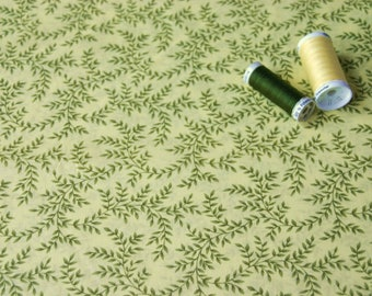 Fabric coupon sheets patchwork pattern on yellow background