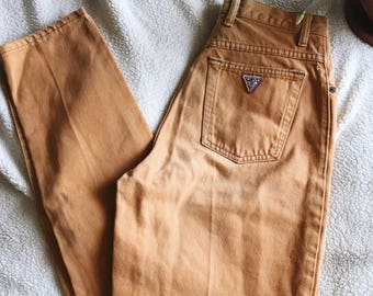 VINTAGE Guess mom jeans W30, vintage high waisted jeans, mom jeans