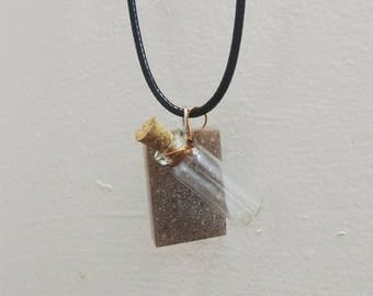 Marble Affirmation necklace