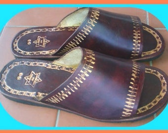 Roraima Men's Leather Sandals - Made to Order