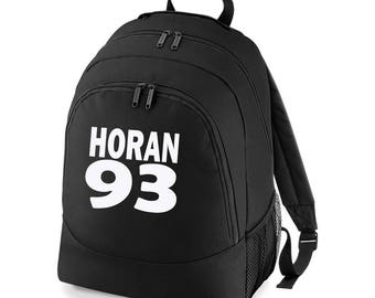 Horan 93  BackPack Bag Rucksack Niall Horan inspired