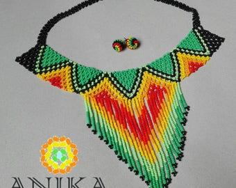 Beautiful embera necklace