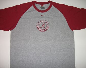 ALABAMA Crimson Tide Short Sleeve NIKE T-shirt Size XL