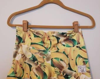 Banana Split (Frandog spandex shorts)
