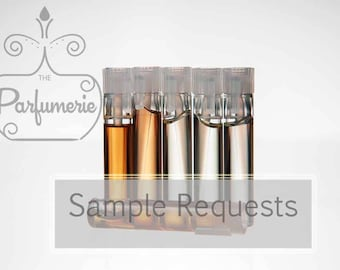 Custom order for pure alcohol free PERFUME OIL, body oil, attar oil. 1 ml. samples customized to your specific fragrance preference