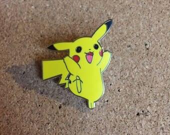 Pikachu Pokemon Hat Pin