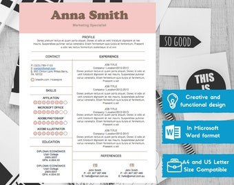 Personal Trainer Resume Modern Resume Template For Word Minimalist Resume Design  What To Include In A Resume Excel with What Is A Cover Letter In A Resume Pdf Resume Template Cv Template Word Resume Design Cv Free Professional  Resume What Does A Resume Need Excel