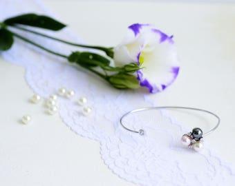 Cuff bracelet for women, Cuff bracelet silver, Delicate bracelet, Silver cuff, Delicate bracelet silver, Adjustable bracelet silver