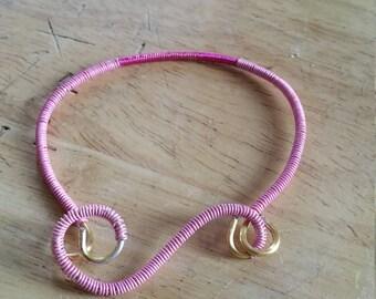 Pink blush braclet