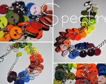 Spectrum - Bracelet with buttons