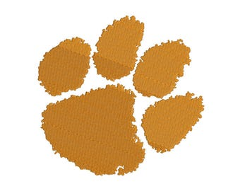 Clemson Tigers Embroidery Design - 5 SIZES