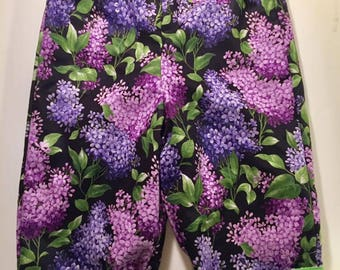 Reversible Purple Flowers