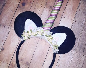 Magical Unicorn Mickey Ears Headband