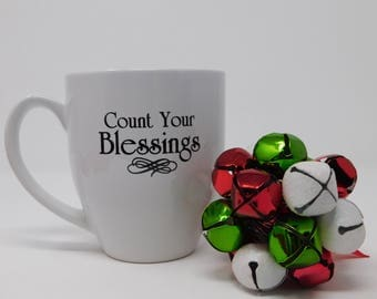 16 oz Count Your Blessings Mug