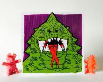 Green Lizard Monster 4x4