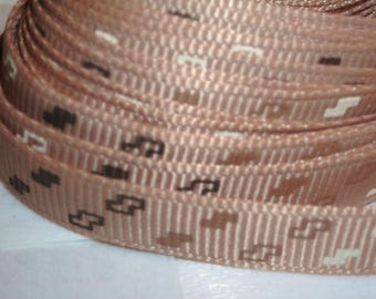 50 cm beige 10mm Ribbon